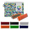 Colorful Travel Set Features a Power Bank with Suction Cups Inside a Zippered Travel Pouch