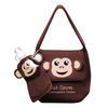 Animal Theme Neoprene Lunch Bag With Flat Bottle