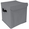 Collapsible Storage Cube with Lid - Solid Colors