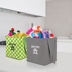 """11"""" x 12.5"""" Patterned Small Heavy Duty Utility Tote"""