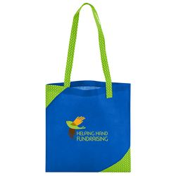"15"" x 15"" Non-Woven Pre-Printed Fashion-Accented Tote"