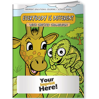 Coloring Book - Everybody is Different