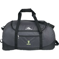 """30"""" High Sierra® Packable Polycanvas and Nylon Rolling Duffel Bag"""