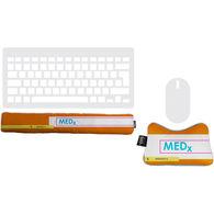 Desktop Wrist Support Set Includes Keyboard and Mouse Wrist Rests