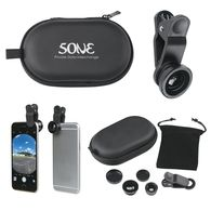 Deluxe Smartphone Fisheye Micro/Macro Lens Kit