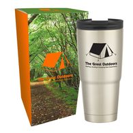 30 oz Engel® Hot/Cold Stainless Steel Vacuum Insulated Travel Tumbler in a Custom Box