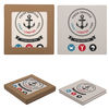 Square Stone Coaster - Set of 2