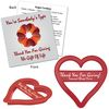 Plastic Heart Shaped Cookie Cutter