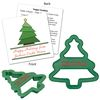 Plastic Christmas Tree Shaped Cookie Cutter
