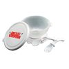 Baby Feeding Set Includes Plastic Bowl, Lid and Utensils
