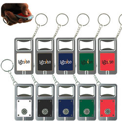 Keytag with LED Light and Bottle Opener