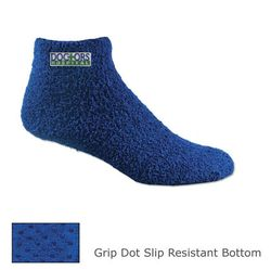 Fuzzy Socks with Slip-Resistant Grip Dots on Sole