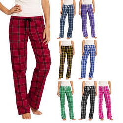 Flannel Plaid Pant - Junior Ladies' Sized