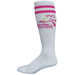High Performance Moisture Wicking Knee Hi Sock with Knit-In Logo