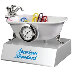 Bathtub Desk Clock