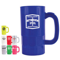 14 oz. Plastic Stein with Thumb Grip Handle