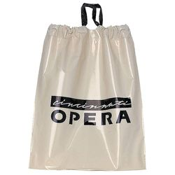 "12"" x 15"" Plastic Drawstring Bag"