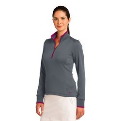 Nike® Ladies' Dri-FIT 1/2-Zip Cover-Up