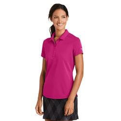 Nike® Ladies' Dri-FIT Smooth Performance Modern Fit Polo