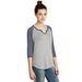 Alternative® Ladies' 3/4-Sleeve Vintage 50/50 Baseball Jersey
