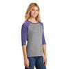 Ladies' Perfect Tri™ 3/4-Sleeve Raglan Baseball Jersey (Sporty)