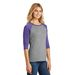 Ladies' Perfect Tri™ 3/4-Sleeve Raglan Baseball Jersey (Sporty)