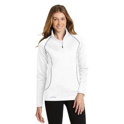 Eddie Bauer® Ladies' Half-Zip Base Layer Fleece Pullover