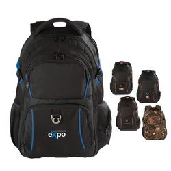 Retail Inspired Backpack with Laptop Pocket and Tablet Sleeve