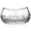 Oval Whisper-Cut Crystal Bowl