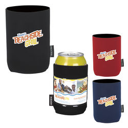 Neoprene Koozie® Can Cooler with Business Card Window