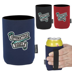 Neoprene Can Cooler with Handle Strap