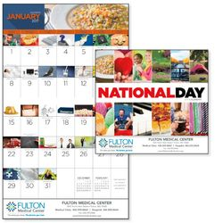 "Appointment Calendars - Quirky ""National Day"" Theme"