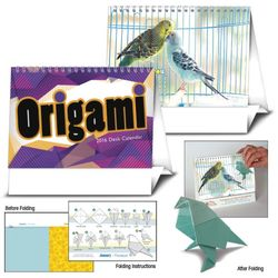 Origami Desk Calendar - A New Project for Each Month!