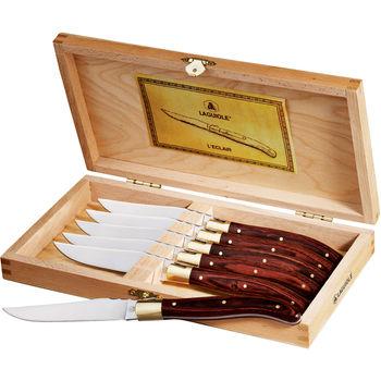 Laguiole®  6-Piece Steak Knife Set (Wood)