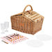Willow Picnic Basket with Service for Two