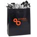 "Glossy Paper Shopping Bag - 16"" x 19.25"" - Foil Imprint"