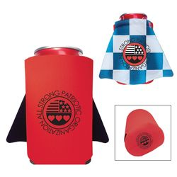 Foam Can Cooler with Super Hero Cape