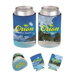 FOAM Collapsible Can Cooler with Full-Color Printing