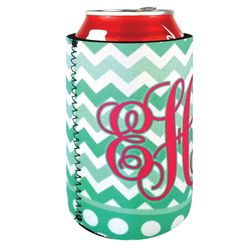 NEOPRENE Collapsible Can Cooler with Full-Color Printing