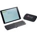 Mini Bluetooth Keyboard for Tablets (ABS Plastic) - Travel Case Included