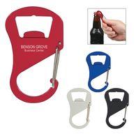 Carabiner Bottle Opener/Key Tag