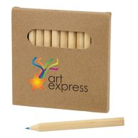 12-Piece Colored Small Pencil Set