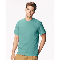 Adult Pigment Dyed Heavyweight Ringspun Cotton Tee