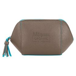 PVC Accessory Pouch with Saffiano-Finish