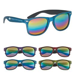 Woodtone Mirrored Sunglasses