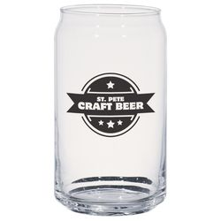 16 oz Glass Beer Can