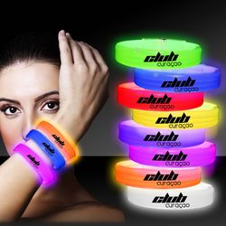 """9"""" Triple Wide Plastic Glow-Stick Bracelets"""