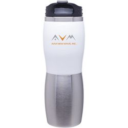 16 oz. Acrylic and Stainless Steel Travel Tumbler