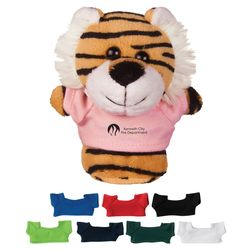 "4"" Mini Desk Beanie - Tiger"