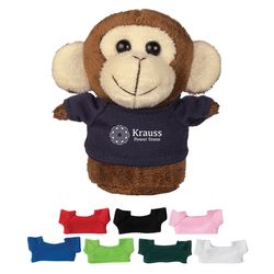 "4"" Mini Desk Beanie - Monkey"